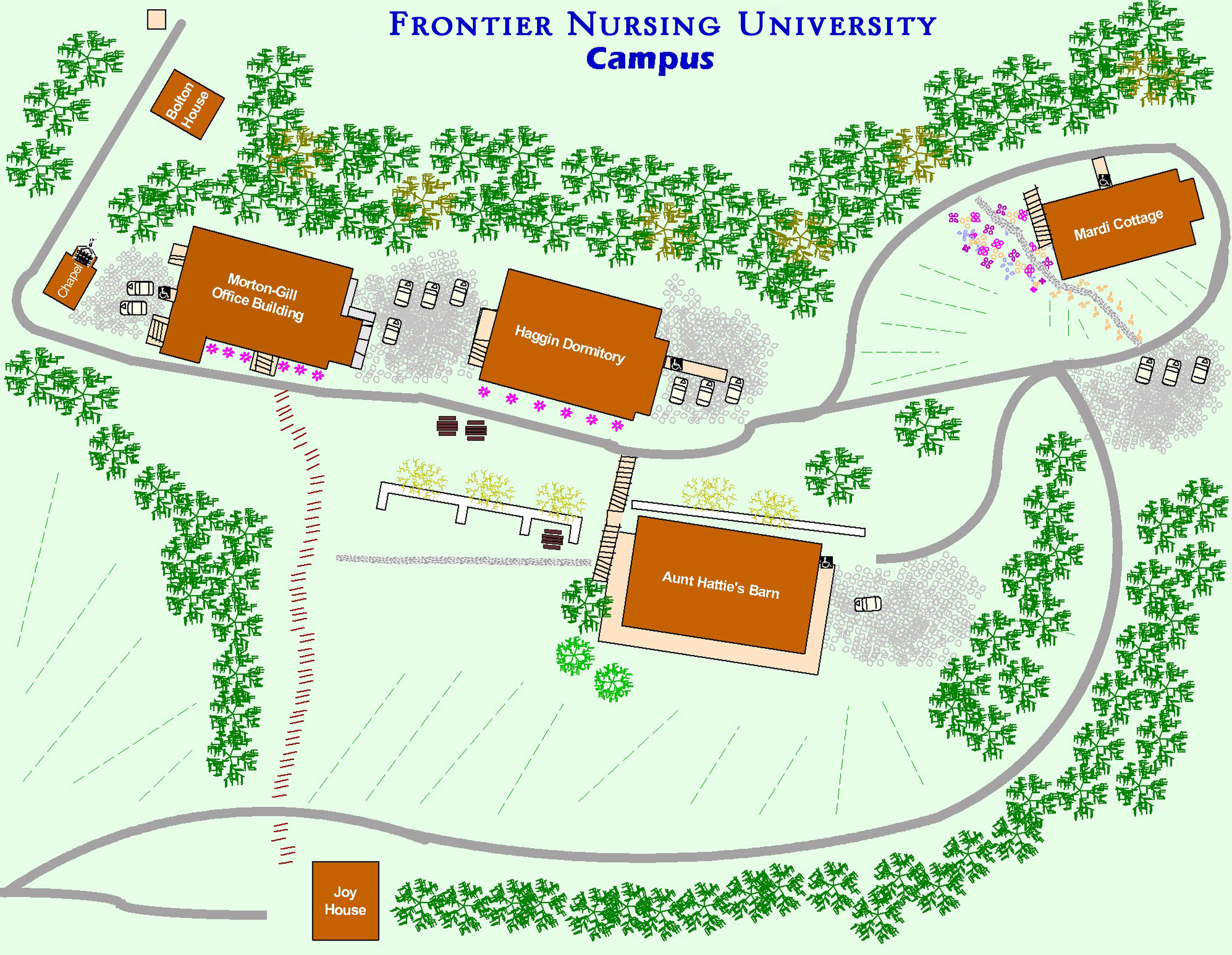 Frontier Nursing University On-Campus Time